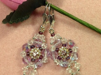 Crystal Drop Earrings Tutorial