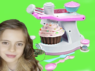 Cupcake maker for kids - Cool toys for girls. JUGUETES para NIÑAS