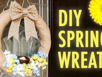 DIY Spring Wreath - HGTV Handmade