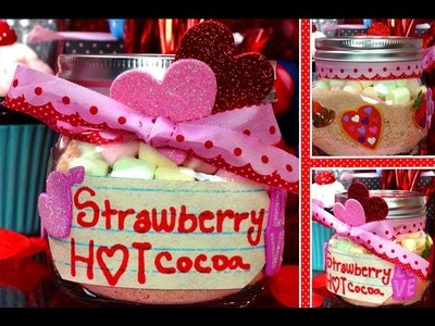 ❤ DIY: Strawberry Hot Cocoa Valentine's Day Gift! ❤