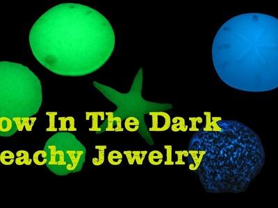 Easy Beachy Glow in the Dark Jewelry ~ Craft Klatch Resin Series