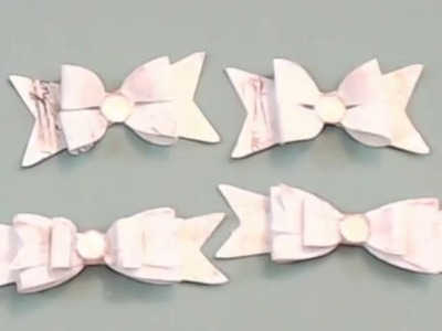 Embellishment {short} Tutorial Series - {Day 4} - Layered Bows