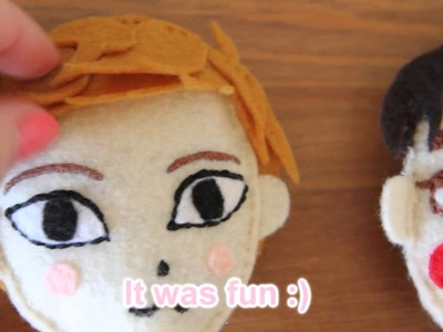 EXO Handmade Dolls by me!