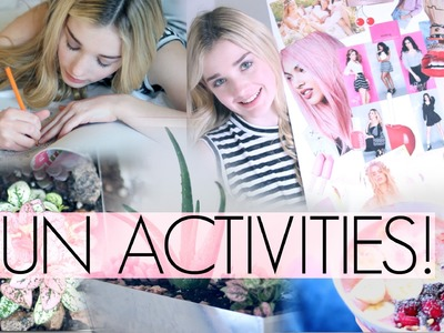 FUN ACTIVITIES FOR THE SPRING TIME! | Avrey Ovard