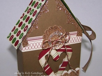 FUN FOLDS Sticky Note Holder House with Kelly Gettelfinger