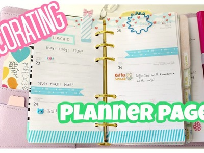 How to decorate your planner pages?