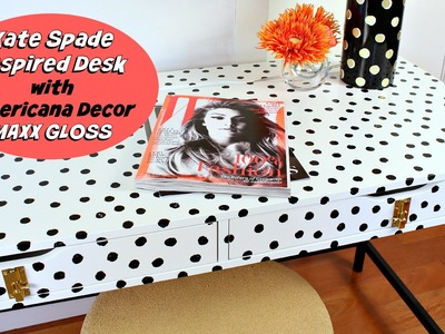 HOW TO: Kate Spade Inspired Desk