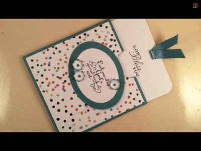 How To Make A Slider Card Using Stamping Up products