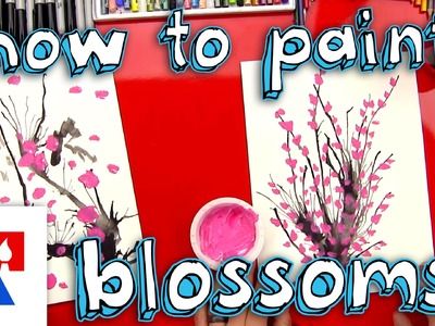 How To Paint Blossoms