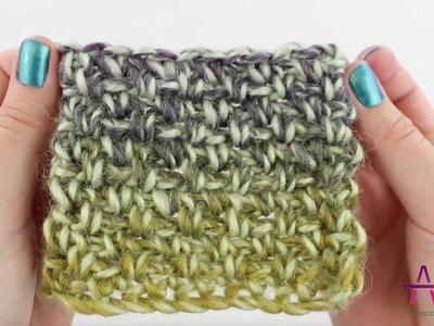 Linen Stitch Crochet Tutorial