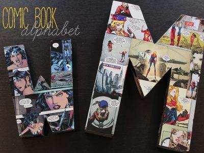 Make a Comic Book Alphabet!
