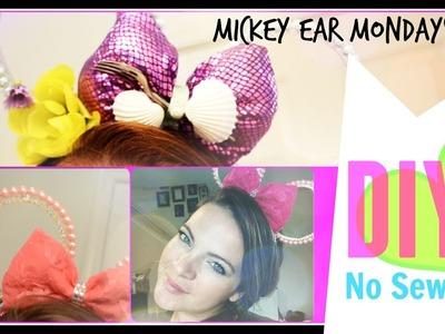 No Sew Princess Pearl Minnie or Mickey Ears