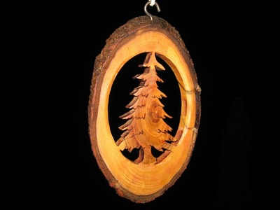 Tree Branch Christmas Ornament - Woodworking. How-To