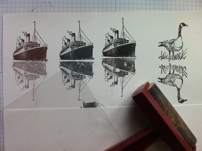 Two Techniques for Creating Reflections when using your Stamps!