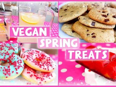 4 Easy & Yummy Spring Treats! [VEGAN]