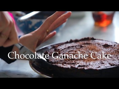 Chocolate Ganache Cake by Deliciously Ella