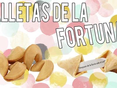Como hacer galletas de la fortuna - Tutoriales Belen