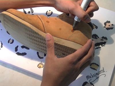 DIY: Leopard Print Boots.