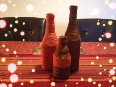 DIY: Wrapped Wine & Beer Bottles