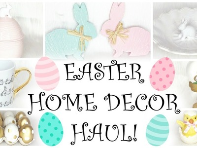 Easter Decor Haul (Again) ♡ HomeGoods, JoAnn Fabrics, & Rodworks
