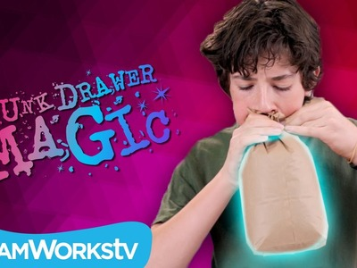 Fake Bag Trick | JUNK DRAWER MAGIC on Go90