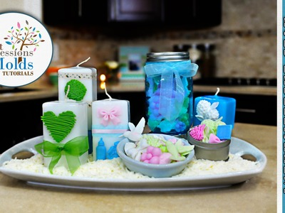 FIRST IMPRESSIONS MOLDS: Candle Making & Embellishment