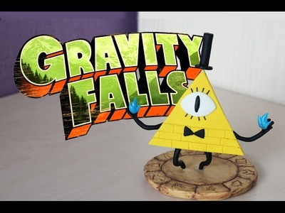 Gravity Falls | Bill Cipher | Polymer clay | Tutorial