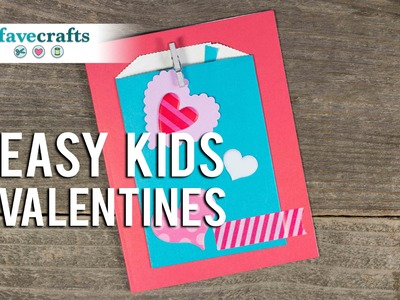 Homemade Valentine's Day Card for Kids