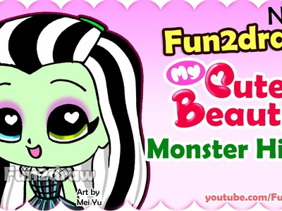 How to Draw a Frankie Stein Monster High