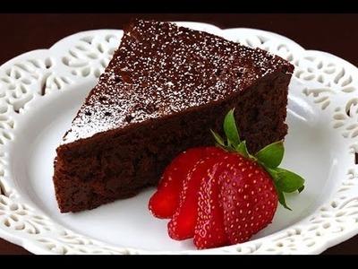 How To Make a 1 Minute Flour-less Chocolate Mug Cake