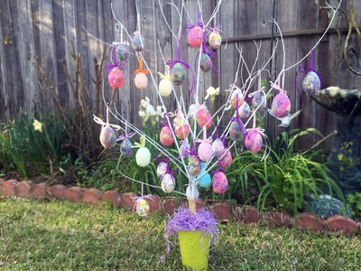 How to make an Easter Egg Tree Tutorial