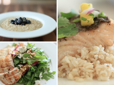My 3 FAVE Healthy Meals (Breakfast, Lunch & Dinner)   Rachel Talbott