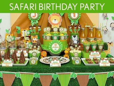 Safari Birthday Party Ideas. Safari - B47