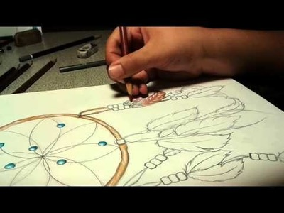 Time Lapse Drawing, Dreamcatcher