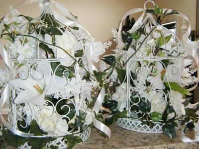 Wedding Decor - How to Make Floral Birdcages