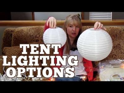 Wedding Tent Lighting | Ryan + Chelsea's Wedding Series | Episode 7