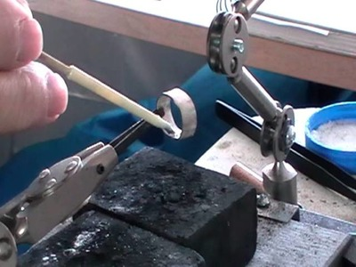 4mm bezel set cabochon ring pt 1