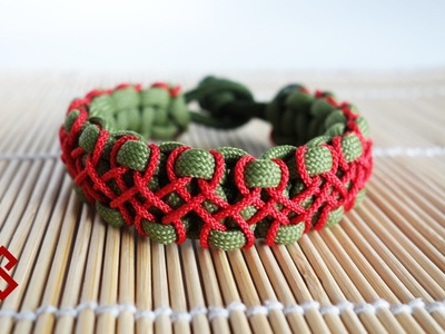 Advanced Herringbone Stitched Solomon Knot Bracelet Tutorial