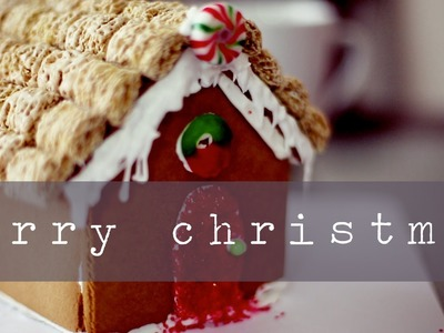 BUILD A GINGERBREAD HOUSE WITH US!