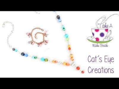 Cat's Eye Creations | Take A Make Break with Sarah Millsop =^. ^=
