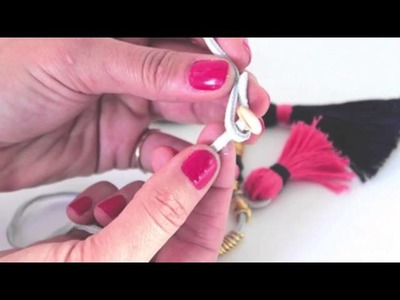 DIY: Boho Chic Tassel Necklace