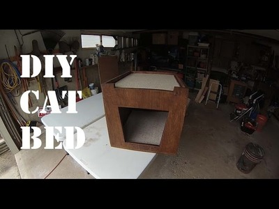 DIY Cat Bed For Under $20 Dollars