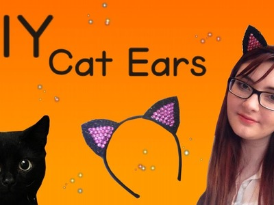 DIY Cat Ears For Halloween
