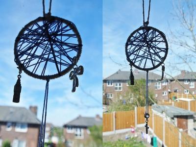 DIY dreamcatcher necklace