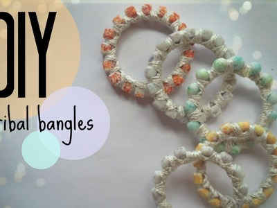 DIY | How to make tribal bangles | CuteNailPolishArt