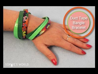 Duct Tape Bangle Bracelet | Sophie's World