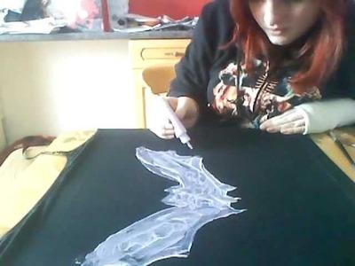 Goth d.i.y tee shirt's