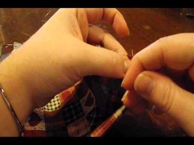 Homestead Clothes Pin Bag Part 2