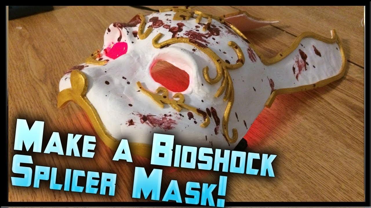 How to Make a Bioshock Splicer Mask! Bioshock Splicer Rabbit Mask Tutorial by ohaple