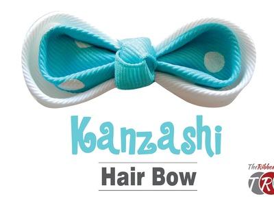 How to Make a Kanzashi Hair Bow - TheRibbonRetreat.com
